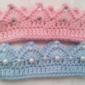 Other - Blinged out Baby Crown Headband